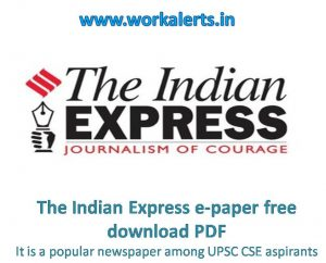the indian express e-paper